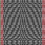 Full Draft for Double Bow Knot Coverlet — Non Computer