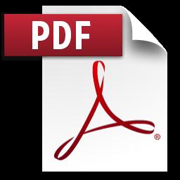 PDF file logo
