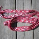 latvian woven band