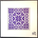 Purple Star Square I 2016