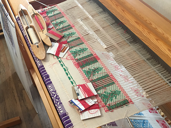Picture of 2016 Christmas Tree on Loom