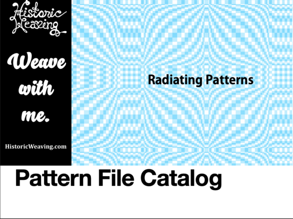 Cover of Radiating Patterns File Catalog