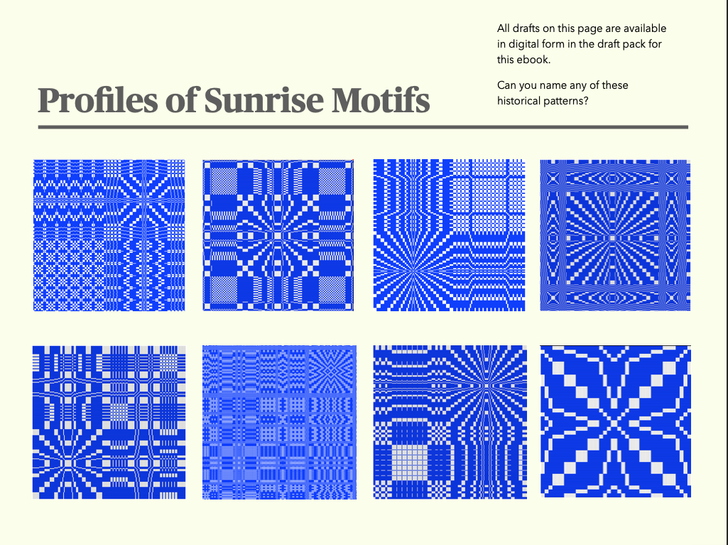 Sample page from Radiating Patterns