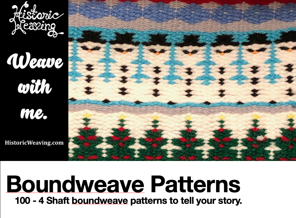 Boundweave Patterns ebook cover